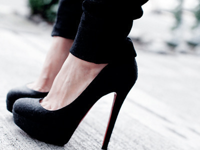 black, cool, cute, fashion, girl, girls, girlsblack, heels, shoes, style