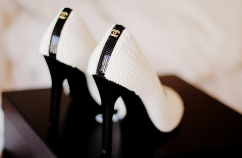 black, fashion, high heels, platforms