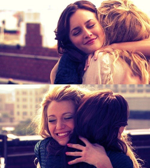 blair, blake lively, friends, friendship