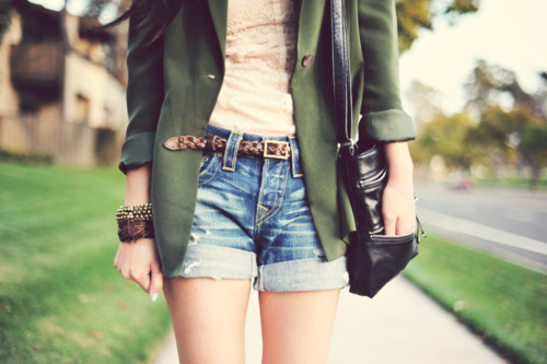 blazer, denim, fashion, jeans, retro, shorts, skinny, summer, vintage