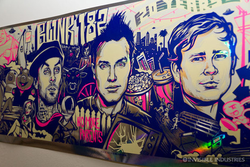 blink 182, draw, drawing, murales