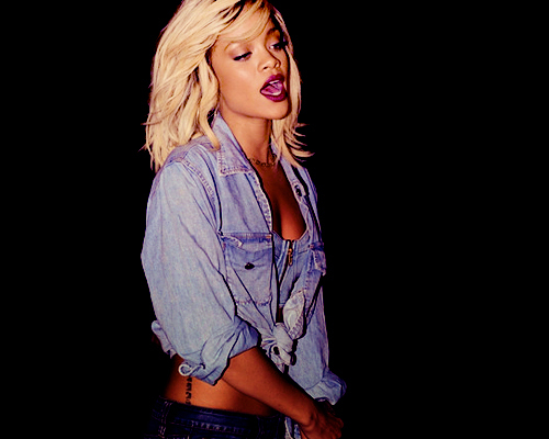 blonde, casual, celebrity, denim, fashion, girl, lovely, outfit, plump, rihanna, style, stylish
