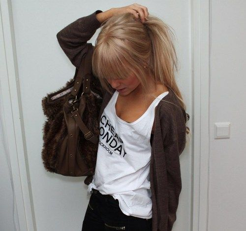 blonde, cute, fashion, girl