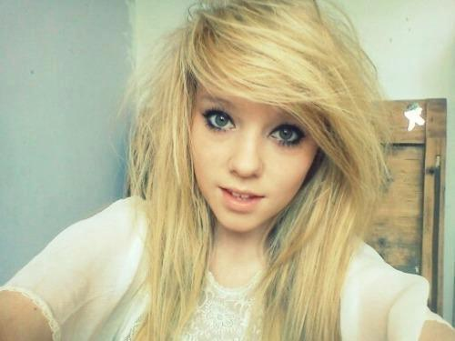 blonde, cute, girl, hair