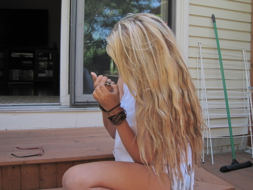 blonde, girl, hair, hipster