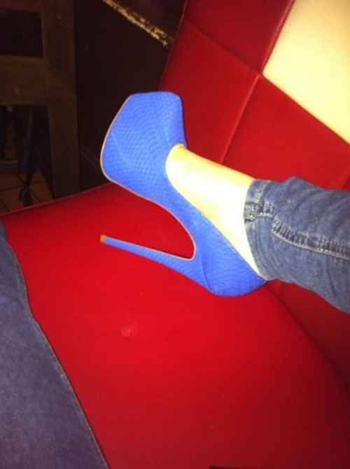 blue, cute, heels, perfect