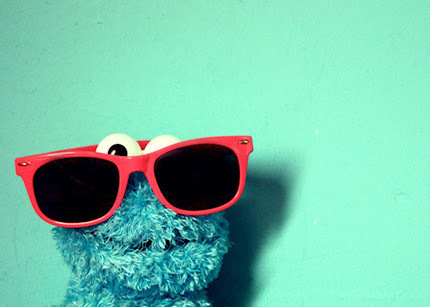 blue, elmo, glasess, love, style