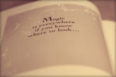 book, cute, everywhere, heart it, look, magic, pastel, quote, text
