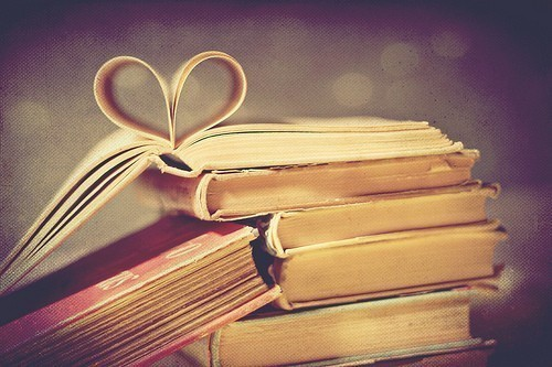 book, cute, heart, knowledge