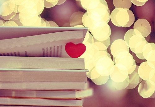 book, heart, light, love