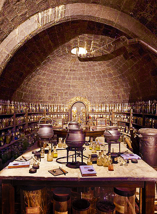 books, decor, harry potter, magic, potion, witchcraft