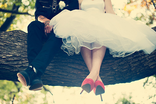 boy, couple, cute, dress, girl, love, photographs2, photography, tree, wedding