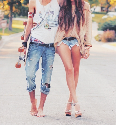 boy, couple, cute, freedom
