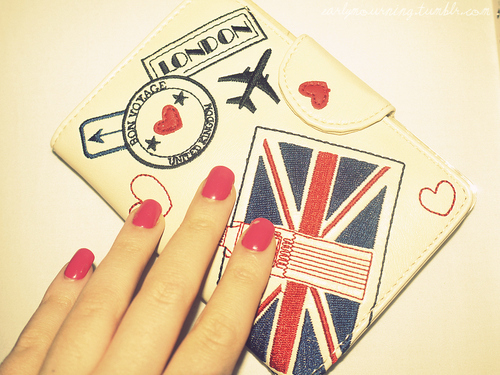 british, carteira, color, cute