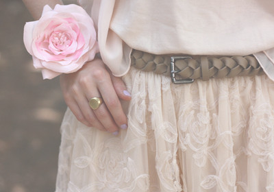 brown, fashion, flower, gold