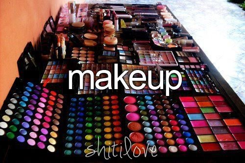 blush, brushes, chocolateblonde, colour, eye shadows, girls, lip gloss, lipstick, make up, stuff