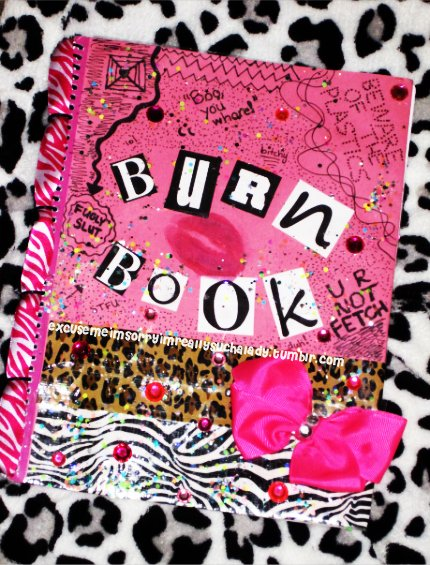 burn book, mean girls
