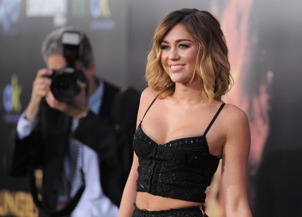 bustier, celebrity, fashion, gorgeous, hair, miley, miley cyrus