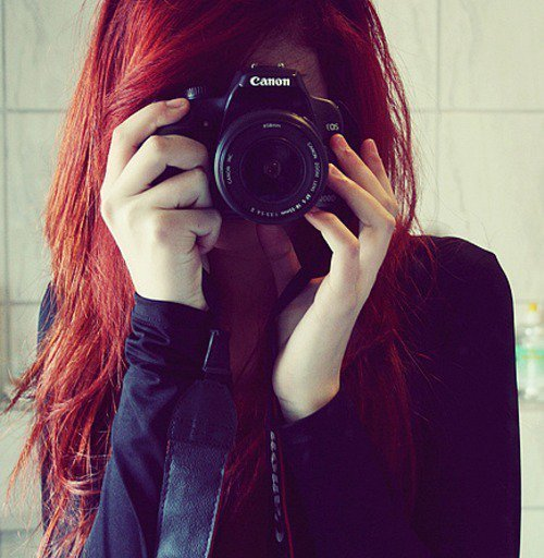 camera, canon, dslr, girl, hair, lens, photography