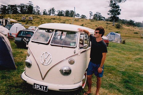 camp, car, fashion, hipster, love, photography, retro, van, vintage, vw