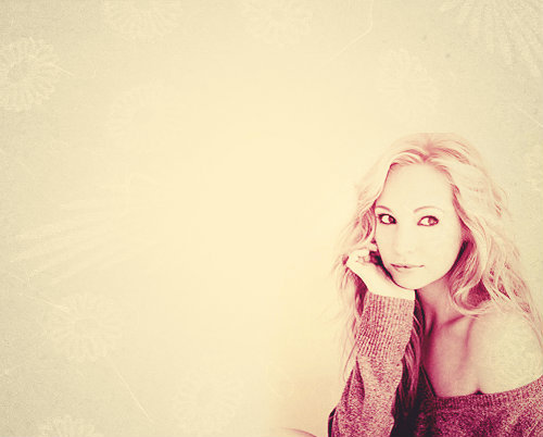 Vampire Diaries { candice accola }