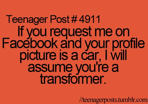 cars, funny, hilarious, lol, post, teen post, teenage, transformers, tumbrl