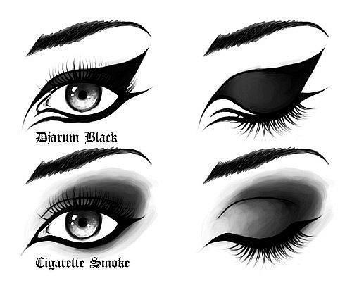 cat eye, dramatic, dramatic makeup, eye shadow