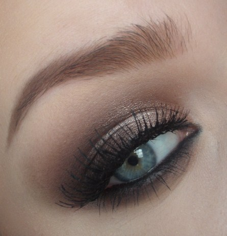 celebrity, dramatic, eye, makeup, smokey