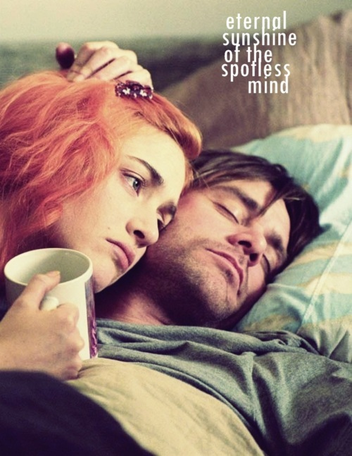 cinema, clementine, couple, eternal sunshine of the spotless mind, movie