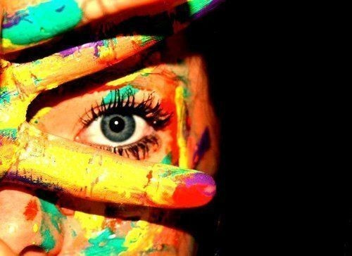 colorful, colors, creative, eye