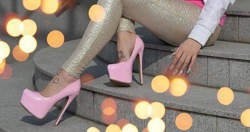 colorful, fashion, girly, high heels