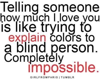 colors, cute, impossible, love, quotes, words