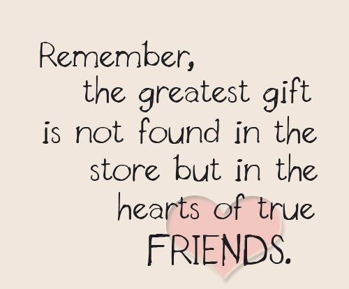 Friends love quotes pics : Colors friends gift heart image on favim
