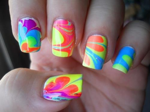 colors, nails