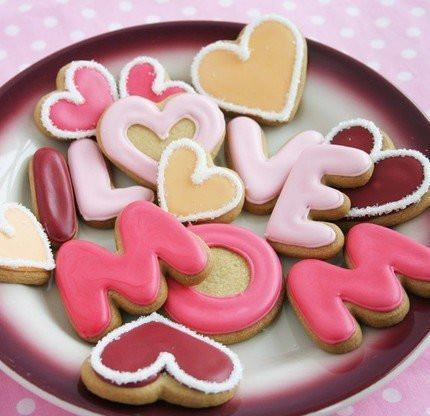 cookie, cookies, cute, delicious, fashion, food, heart, hearts, i love mom, love, nice, photography, pink