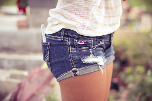cool, denim, fashion, phone, photography, shorts, style