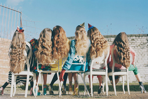 cool, fashion, friendship, girls, hair, hairs