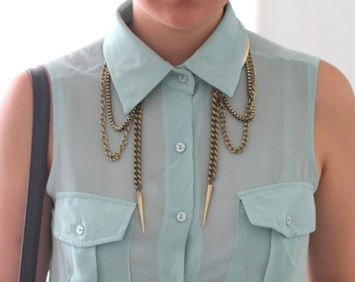 cool, fashion, shirt, spike, vintage