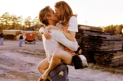 couple, cute, kiss, perfect