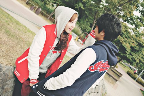 couple, kfashion, love