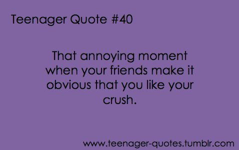 crush, friends