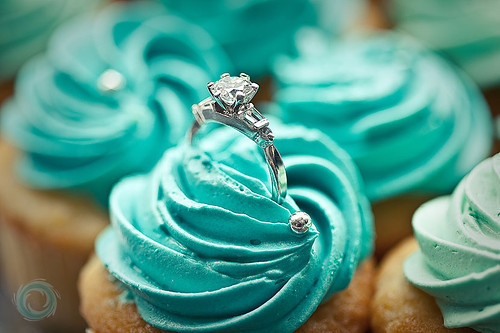 cupcake, diamond, ring