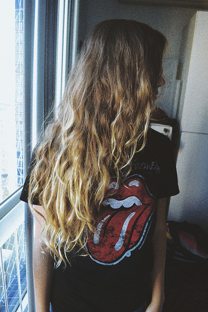 curls, girl, hair, rock, rolling stones, the rolling stones, thin