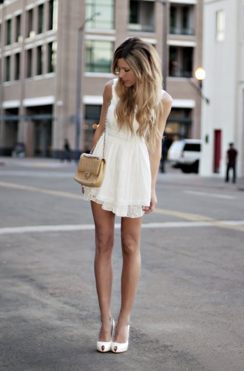 cute, drees, fashion, girl