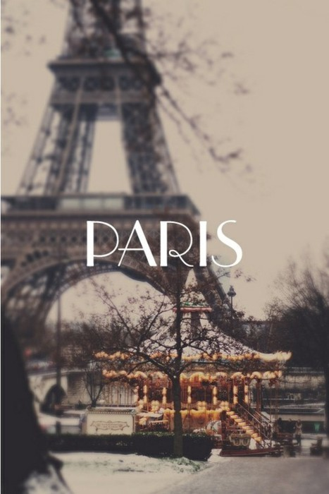 cute, eifeltower, paris, text