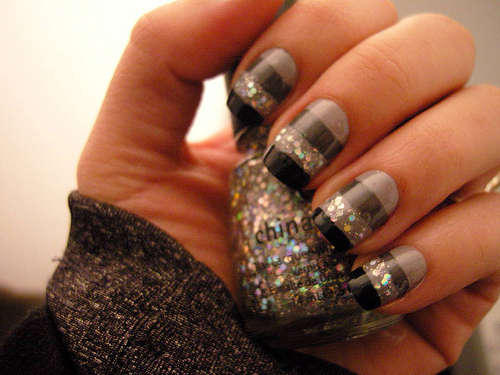 cute, fashion, fashion girly, glitter, nails, pretty