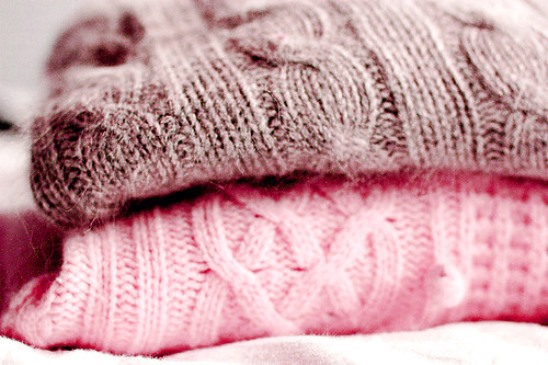cute, fashion, gray, pink, pink and gray, snuggly sweater