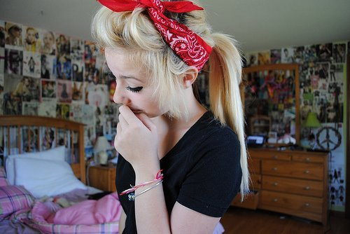 cute, girl, hair