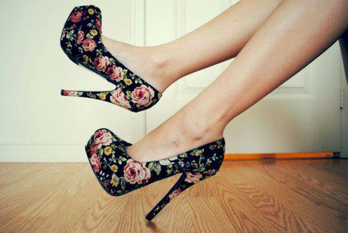 cute, high heel, shoes