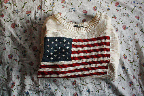 cute, sweater, usa